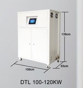 Poza Centrala termica electrica cu inductie OFS-DTL 120 kW - dimensiuni de gabarit