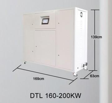 Poza Centrala termica electrica cu inductie OFS-DTL 200 kW - dimensiuni de gabarit