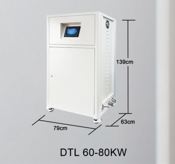 Poza Centrala termica electrica cu inductie OFS-DTL 60 kW - dimensiuni de gabarit