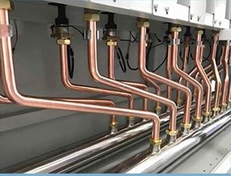 Poza Centrala termica electrica cu inductie OFS-DTL - detaliu cu conductele de agent termic