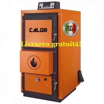 poza Centrala termica pe lemn cu gazeificare CALOR ASPIRO 95R inox