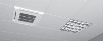 Poza Echipament de climatizare tip caseta FUJITSU - exemplu de montare unitate interioara