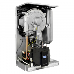 Poza Centrala termica in condensatie combi BLUEHELIX ALPHA - vedere interioara