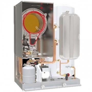 Poza Centrala termica pe gaz in condensatie cu boiler BLUEHELIX TOP RRT 28/34 K 50 - vedere interioara