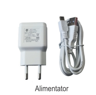 Poza Termostat ambiental cu radiofrecventa RF si WiFi FERROLI CONNECT - alimentator