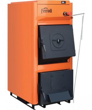 poza 3907 Lei Centrala termica pe lemn Ferroli FSB PRO - 40 kW - NOU !
