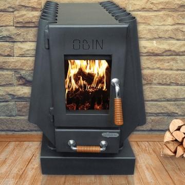 poza Soba-semineu de incalzit Koper model Odin - 13 kW